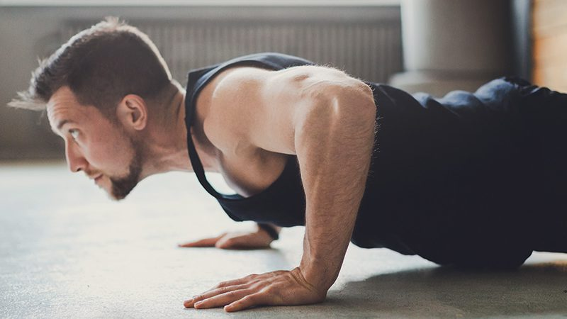 Bodyweight exercises you can do at home