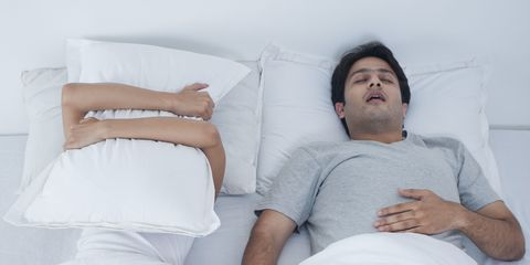 Night time snoring might mean you have this