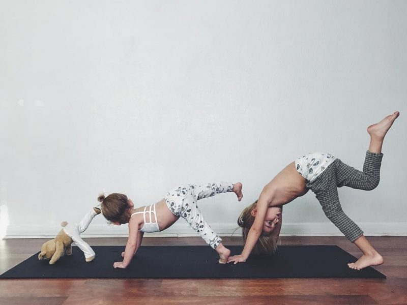 Practice Yoga: Bring Your Family Together